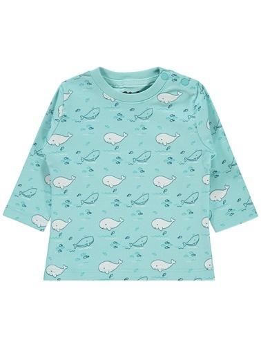 Civil Baby Civil Baby Erkek Bebek Sweatshirt 3-12 Ay Mint Yeşili Civil Baby Erkek Bebek Sweatshirt 3-12 Ay Mint Yeşili Renkli